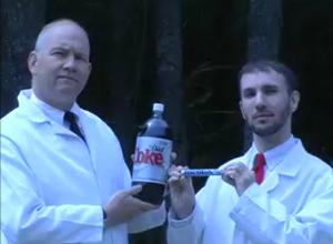 coke-mentos