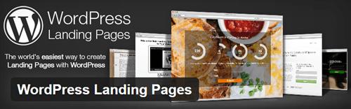 landing page creation wordpress plugin