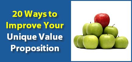 unique value proposition improve tips