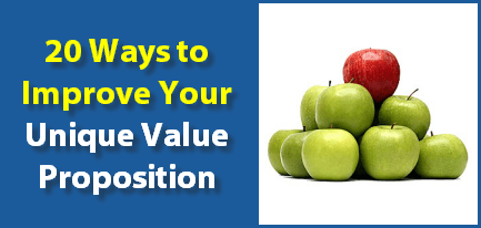 unique value proposition improve tips